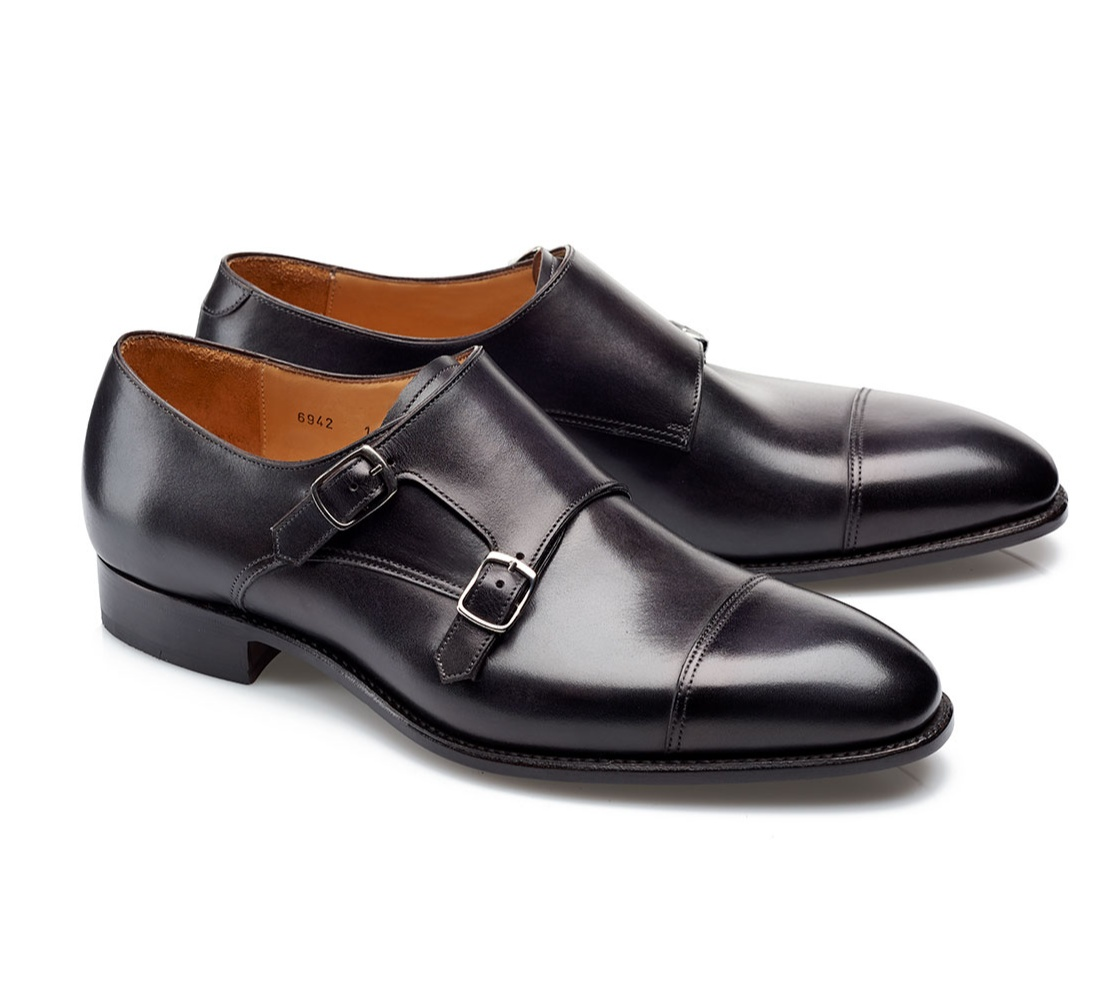 Double Buckle Shoes - Andrew Noir Shadow