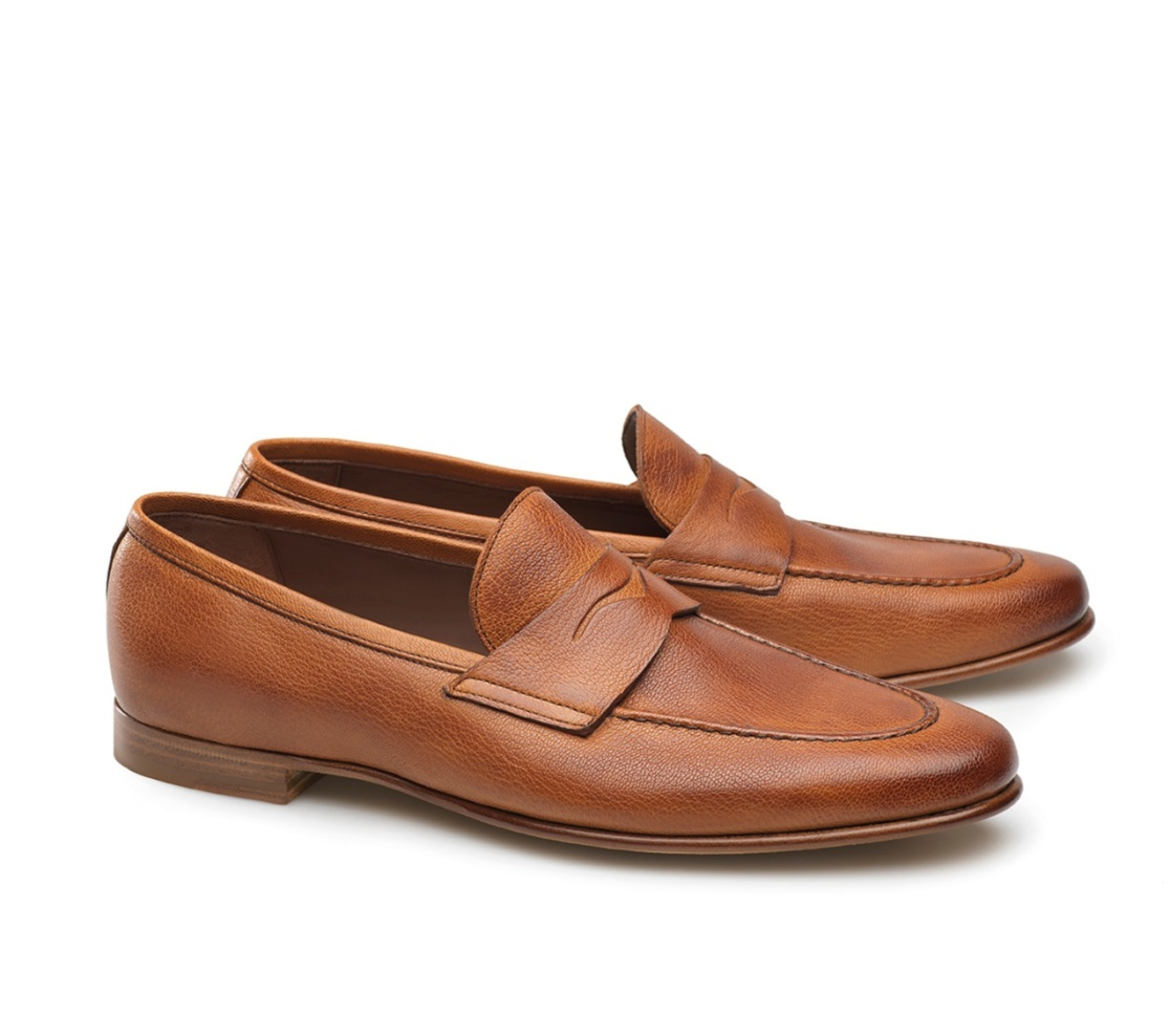 Penny Loafers - Clayton Capre 117