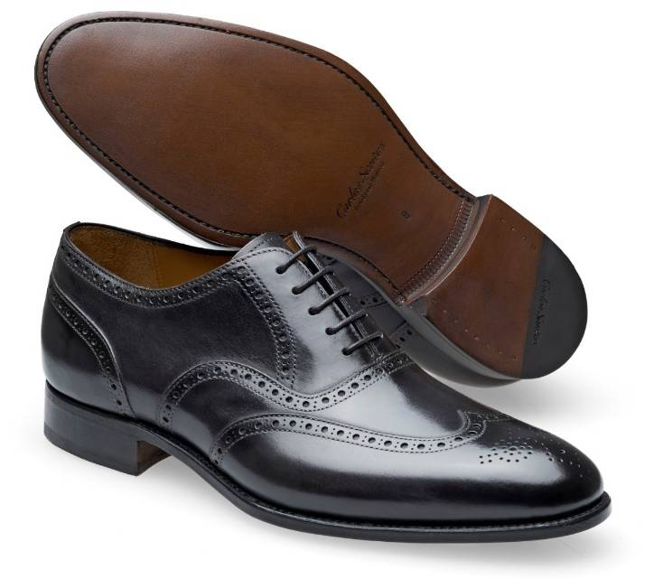 Wingtip Brogue - Frank Noir Shadow