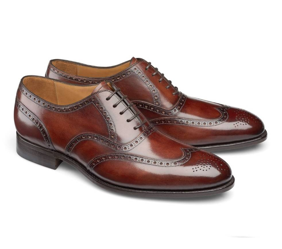 Wingtip Brogue - Frank Wine Shadow