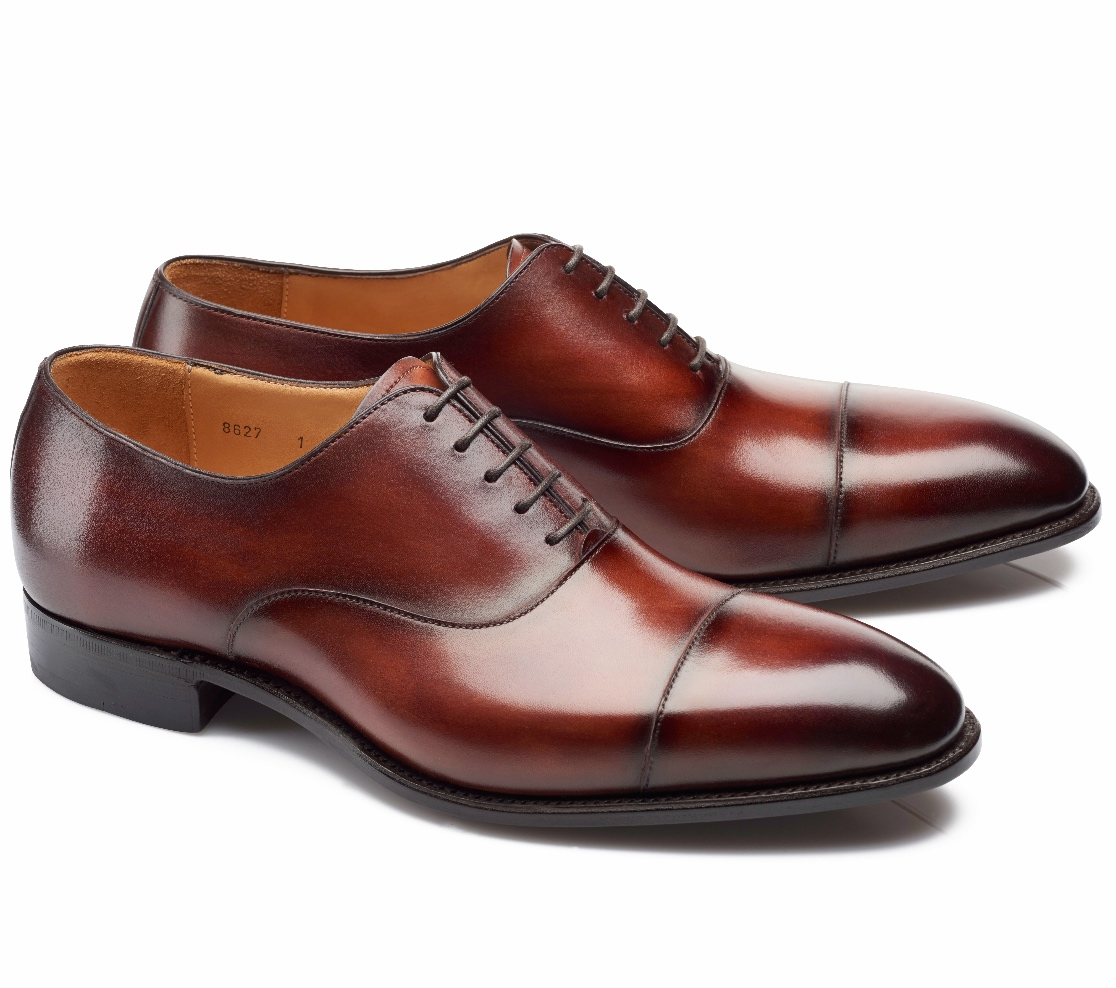 Cap Toe Shoes - Harold Wine Shadow