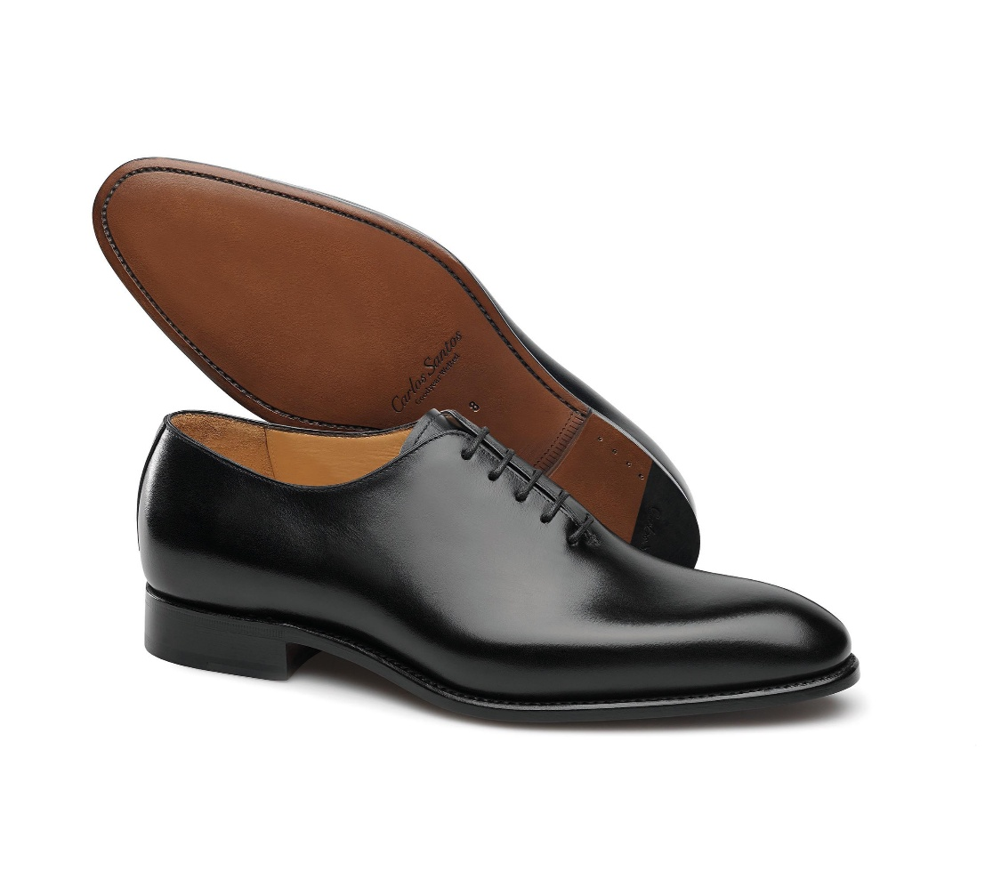 One-Cut Shoes - William Anilina 100 Noir